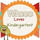 Whooo Loves Kindergarten