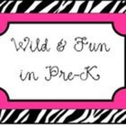 Wild and Fun in Pre-K