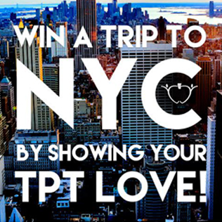Show Your TpT Love for the Chance to Win Big