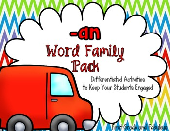 An Word Family-First Grade and Fabulous