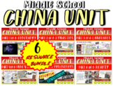 *** CHINA!!! 6-PART, visual, engaging 93-slide PowerPoint