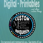 -Custom Designs, Clipart, Profile Pics, Banners, Business