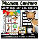 -Er, -Eer, -Ear, and -Ere Word Work Activities