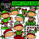 {FREE} Happy Little Elves {Creative Clips Digital Clipart}