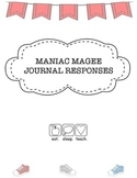 """""""Maniac Magee"""" Journal Responses"""