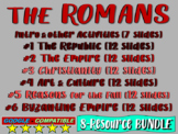 . ROMAN EMPIRE UNIT - (all 6 parts!) Highly visual, engagi