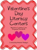 * Valentine's Day Literacy Centers *