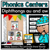 -aw and -au Word Work Activities