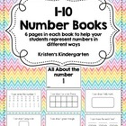 1-10 Number Books