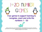1 - 20 Number Games