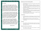 #1 - Text Evidence - CR Letter to Teacher - Writing - Common Core