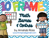 10 Frames: Math Centres & Partner Games