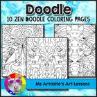 10 Intermediate Zen Coloring Sheets for Intermediate Students