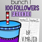 100 FOLLOWERS FREEBIE!