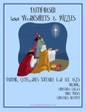 100 Faith-Based Puzzles, Activities and Worksheets