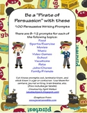 100 Persuasive Writing Prompts