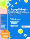 100 Reproducible Reading Formative Assessments