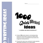 1000 Journal and Writing Prompts