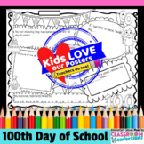 100th Day of School Poster Activity