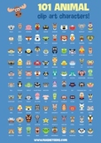 101 Animal Clip Art Characters