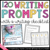 101+ Writing Prompts (with writing checklist)