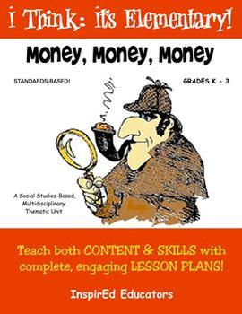1104 Money, Money, Money! COMPLETE ELEMENTARY ECONOMICS UNIT