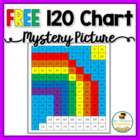 120 Chart Mystery Pictures - Rainbow FREEBIE