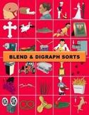 Blend & Digraph Sort Manipulatives