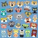 15 African Animals Masks