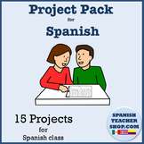 15 Spanish 1 Projects