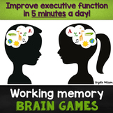 15 Working Memory Brain Games: Improve executive function