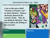 150 Art Warm Ups