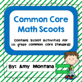 16 Common Core Math Scoot Activities for 1st Grade!
