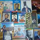 19 Famous American Books: Lincoln, M.L.King, Jackie Robins