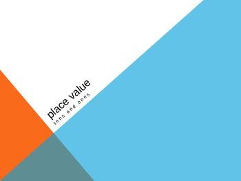 1.NBT.2 Common Core First Grade Math - Place Value