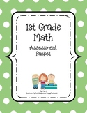 1st Grade Assessment Packet