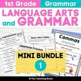 1st Grade Common Core Language Practice Sheets- A Growing Bundle