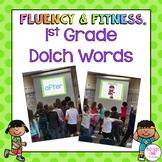 1st Grade Dolch Words Fluency & Fitness Bundle
