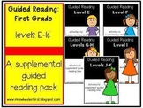 1st Grade Guided Reading: A Growing Bundle