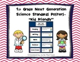 "1st Grade Next Generation Science Standards Posters- ""Kid"