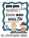 1st Grade Place Value Interactive Student Notebook NBT