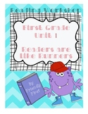 1st Grade Reading Unit 1 Charts and Lessons