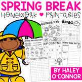 No Prep Spring Break Practice Packet
