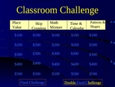 1st grade 'Jeopardy-style' Math PowerPoint VERSION I