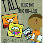 2 Fall Picture Book Online Read-Aloud QR Codes **Freebie**