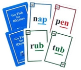 2 Phonics Games-Hard Goods-Go Fish for Rhymes & Silent Magic