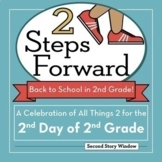 2 Steps Forward: The 2nd Day (or Week) of 2nd Grade Bundle