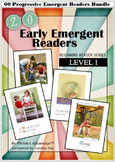 20 Early Emergent Readers - Level 1 - Beginning Reader Series