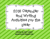 2015 Calendar and Year of Writing Prompts (Christmas Gift