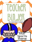 2015-2016 MVP Sports! Teacher Binder